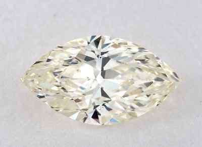 0.67 CT N COLOR MARQUISE GIA CERT DIAMOND 100% EYE CLEAN,WHITE FACE UP TAXFREE
