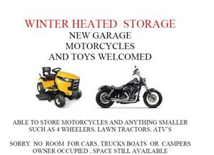 Heater Winter Storage for Motorcycles, Bikes, ATV's Lawn Tractor