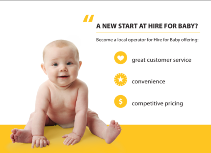 PROFITABLE HOME BUSINESS FOR SALE - Hire for Baby Cairns
