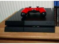 PS4 with controller (PLS NOTE: NO GAMES. All Games Now Sold)