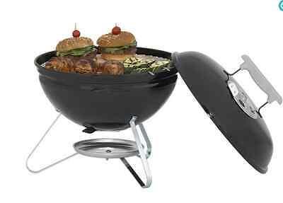 weber smokey joe black 147 sq 14 5 outdoor barbecue bbq portable charcoal grill ebay. Black Bedroom Furniture Sets. Home Design Ideas