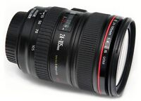 Never Used Canon 24-105 f4 Image Stabilised  L series Lens