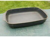 """AGA Cast Iron 15"""" Baking / Roasting Dish"""