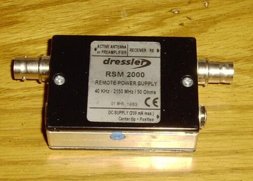 Power supply coupler - Dressler ARA Antenna
