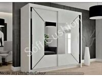 Brand New Wardrobes For Sale All Sizes And Designs Available.