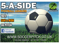 Yate 5 A-SIDE Football Leagues