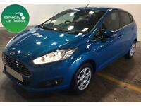 ONLY £162.58 PER MONTH BLUE 2013 FORD FIESTA 1.6 ECONETIC TITANIUM S/S 5