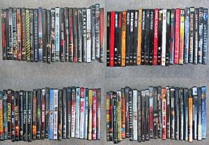 Assortment of DVDs - 3 for $10.00