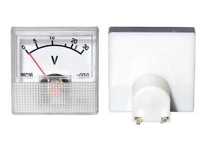 Voltmeter / Amperemeter  DC 30V / 30A analog Spannungsmesser Strommesser