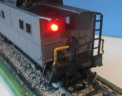 End Of Train Device HO,S or O  Scale with Flashing Red LED -
