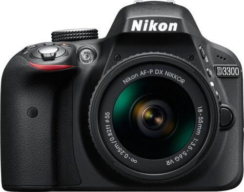 Nikon D3300 24.2 MP DSLR Camera with AF-P 18-55mm VR Kit Lens (SMP) By Ebay @ Rs.23,599