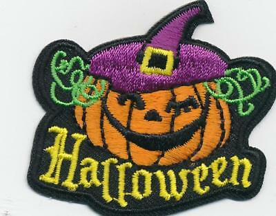 Girl Boy Cub HALLOWEEN WITCH Hat Party Fun Patches Crests Badges SCOUT GUIDE - Boy Girl Halloween Party