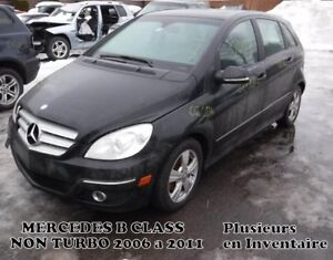 MERCEDES B200 MODÈLE TURBO & NON TURBO 2006 a 2011