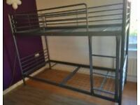 Ikea bunkbed & 2 x Ikea foam mattress nearly new