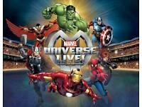 Marvel Universe Live @ Glasgow Hydro Friday 6th Jan @ 3pm