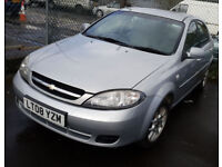CHEVROLET LACETTI 1.6 PETROL 2008 REG 94,000 MILES HATCHBACK MANUAL SILVER