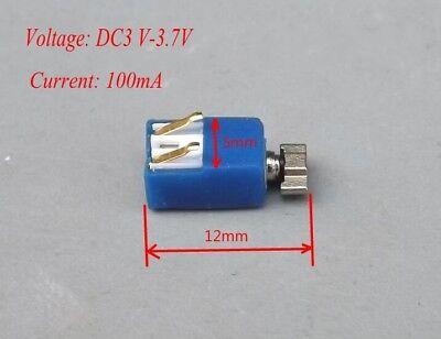 Firma i Przemysł 2 pieces Motor 6mm x 12mm cell phone little 6x12 Vibrating Micro Vibrator C21