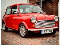 Classic Mini Mayfair 1989, 32,000 miles 998cc
