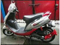 Scooter moped sym jet euro x 100