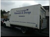 Cheap professional man and van hire, home apartment and office removal services