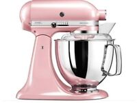 Brand new Kitchenaid Artisan Pink in box with attachments