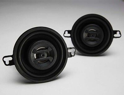 "Hifonics ZS35CX Speakers 3.5"" 2-Way 125W Max Mylar Dome Tweeters"