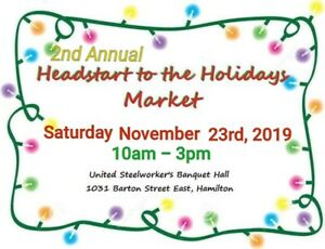 2nd Annual Headstart to the Holidays Market