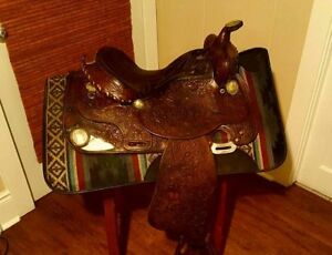 Hereford western saddle...others available