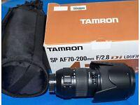 NIKON TAMRON AF 70-200mm F/2.8 SP Di LD [IF] MACRO LENS