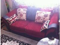 Sofas bed burgundy