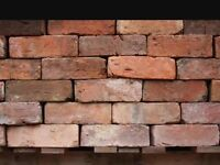 Reclaimed red brick