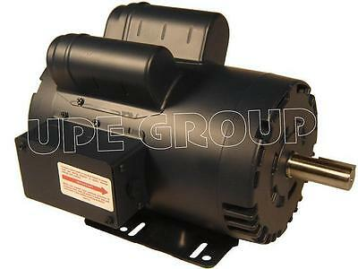 Leeson Heavy Duty 5 Hp 20.8a Electric Motor For Compressor 3600 145t 78 120554