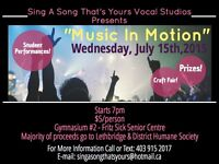 """Music In Motion"" Summer Recital!"