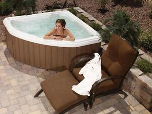 Corner Spa Convenient Size and Price - BLOWOUT SALE THIS WEEKEND