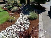 Landscape materials at discount prices