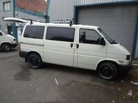 WANTED, VW T4 TRANSPORTER, ANY CONDITION, RUNNING OR NOT