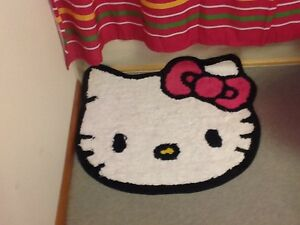 Hello Kitty Shower Curtain and Bath Mat - new! London Ontario image 2