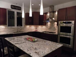 ~~Quartz~~Granite~~kitchen countertop $38/sqft on selected slabs