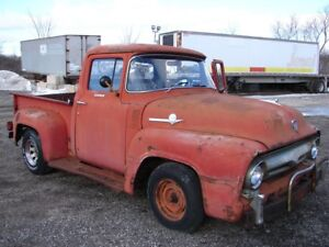WANTED- 1956 FORD TRUCK ROOF or PROJECT