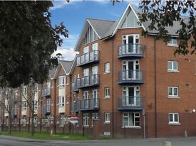 Beautiful 2 bed open plan apartment, off road private parking, with a lift, available 1st July