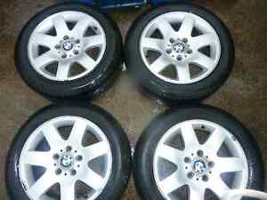 Selling bmw e46 rims with tires