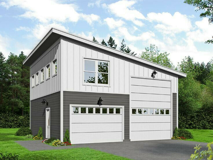 Two Story Shop/Garage with living upstairs loft