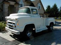 1955 - 1959 Chevy COE Cabover Truck 1956 1957 1958 Chevrolet OBO