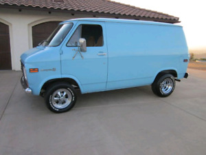 WANTED. Shorty Chevy van.