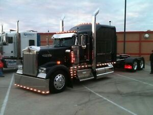 Custom Peterbilt & Kenworth Bumpers