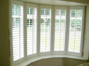 Shutters, blinds, shades & more! Free estimate! 6477860121