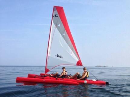Hobie Tandem Island Kayak with Trailer