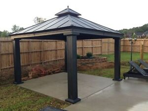 Gazebo metal roof