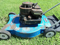 """WANTED: none running gas lawn mower """"pay cash"""""""