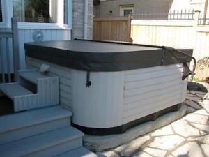 Custom Built Spa Hot Tub Cover Sale serving Windsor and region
